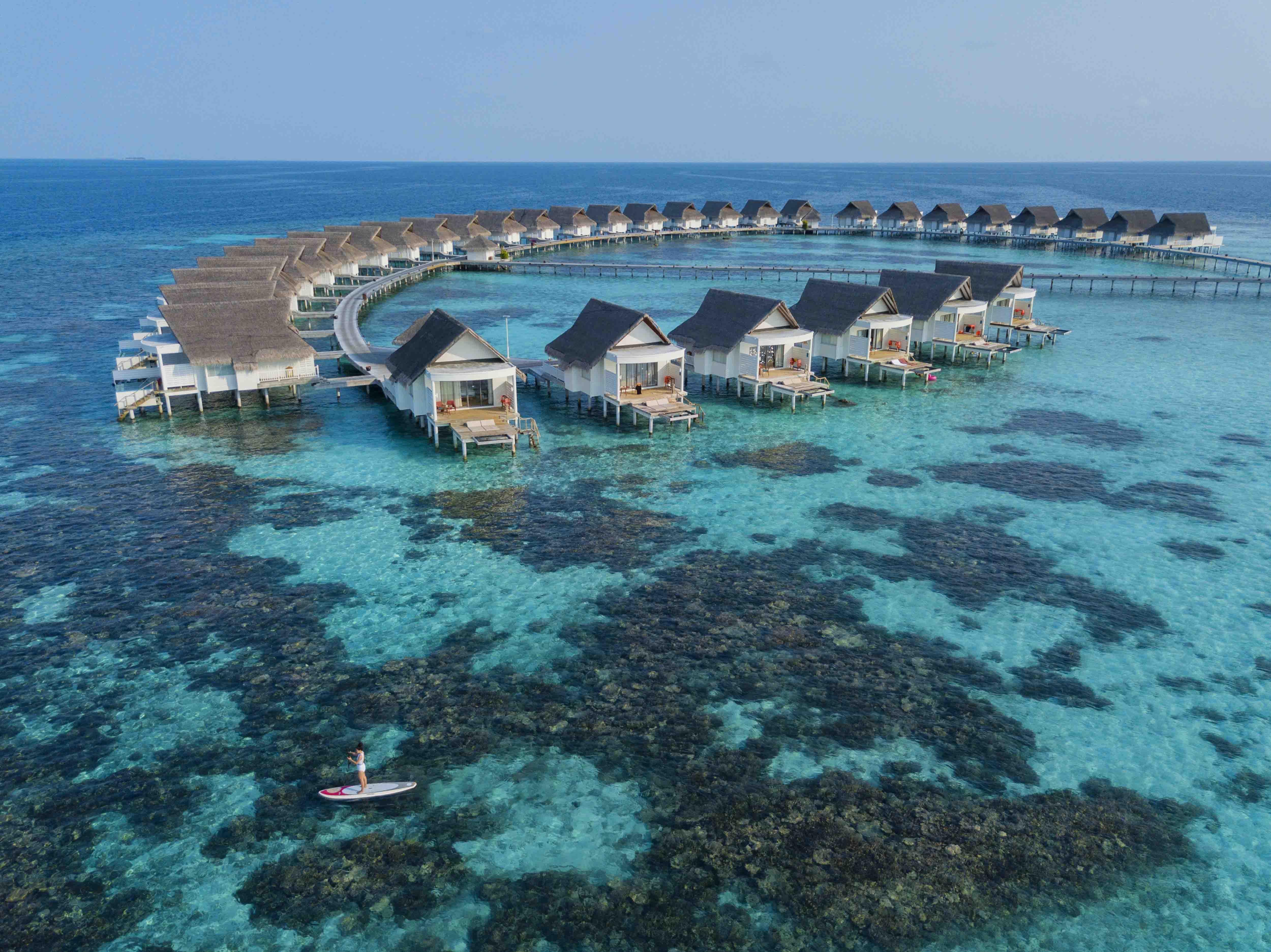 Bãi biển Maldive ở Centara Grand Island Resort & Spa Maldives