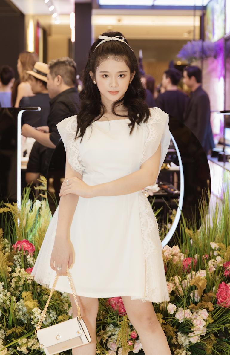 Hot girl Linh Ka xinh như công chúa cũng góp mặt tại sự kiện Dior Les Parfums