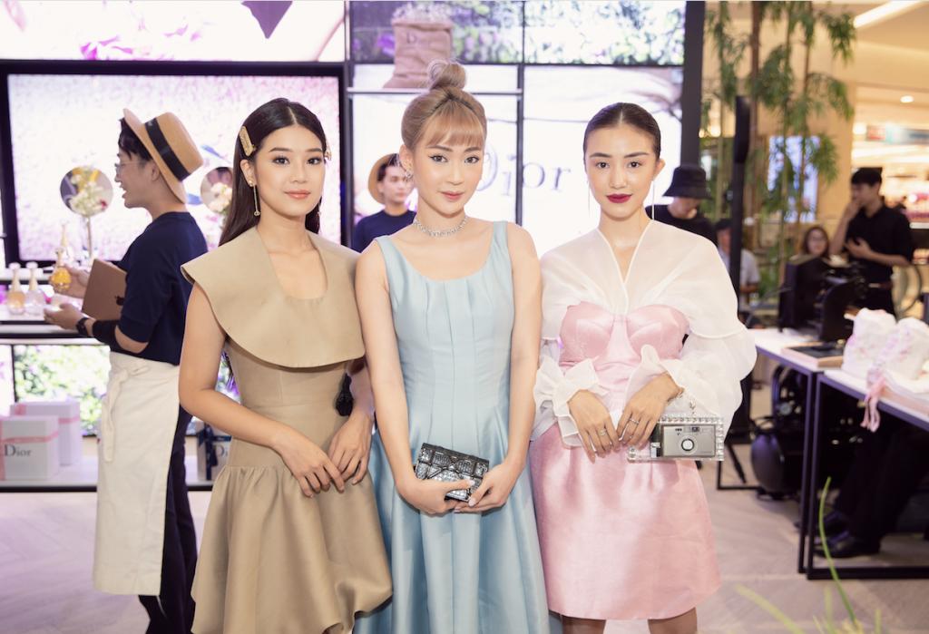 triển lãm nước hoa Dior Les Parfums