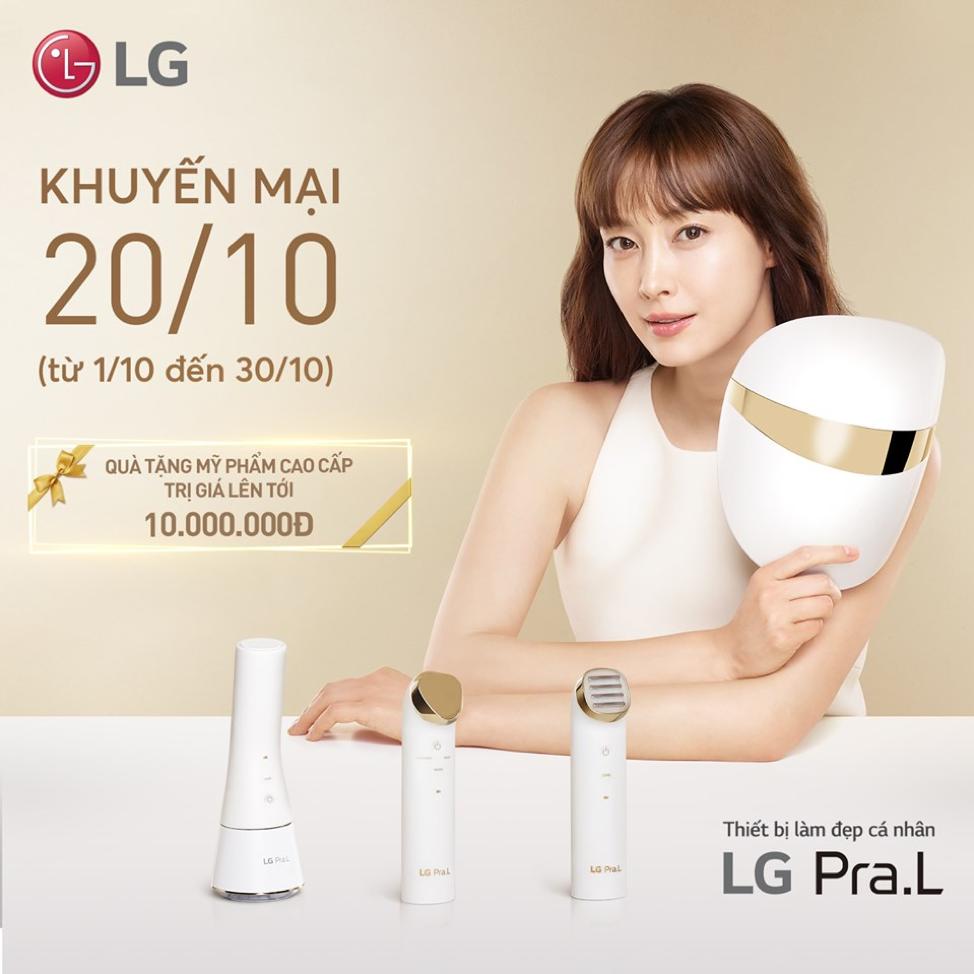 thiết bị chăm sóc da và làm đẹp LG Pra.L