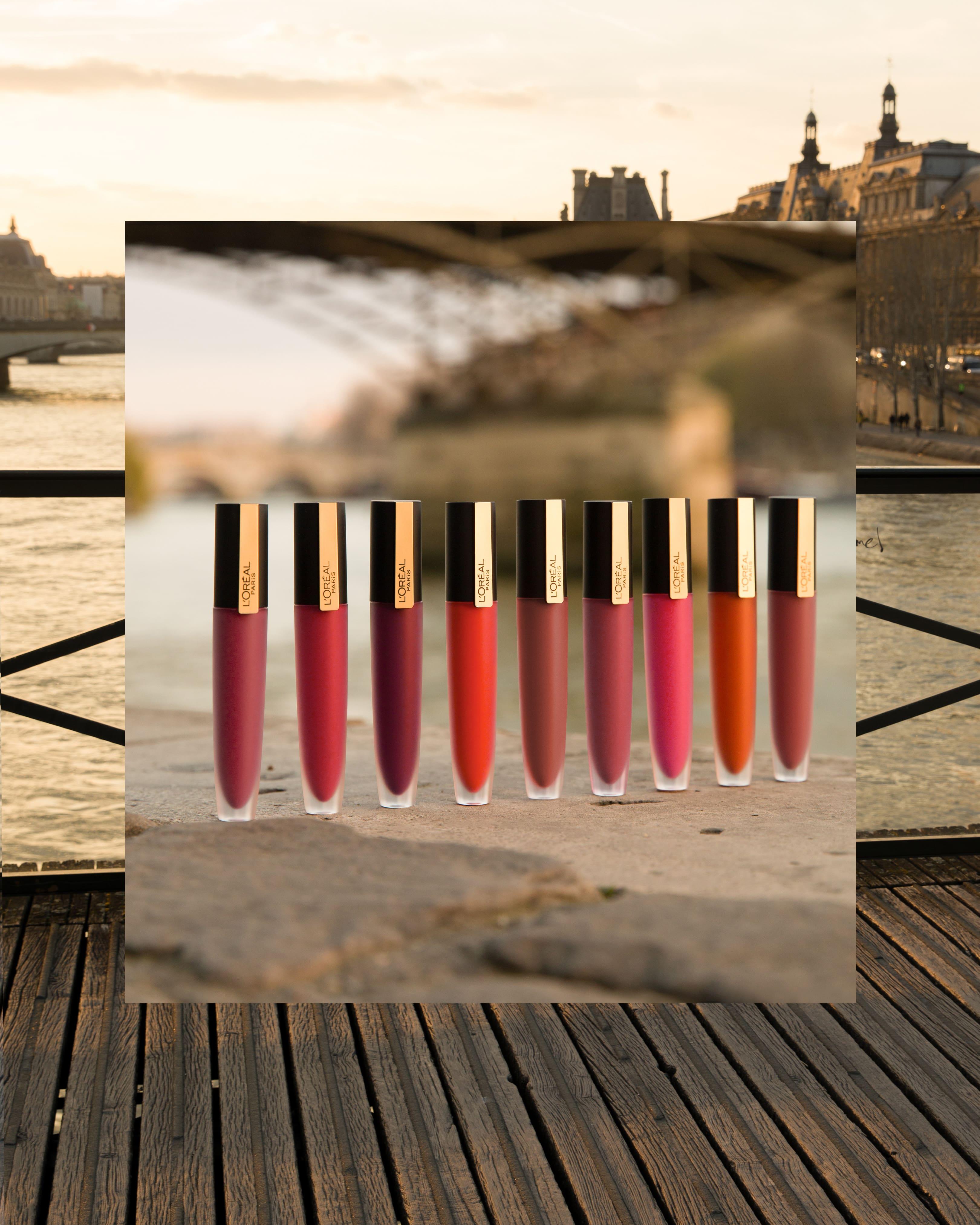 Dòng son L'oreal Paris đa dạng màu sắc