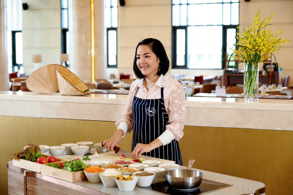 SGDN Helen Le @Cooking Class