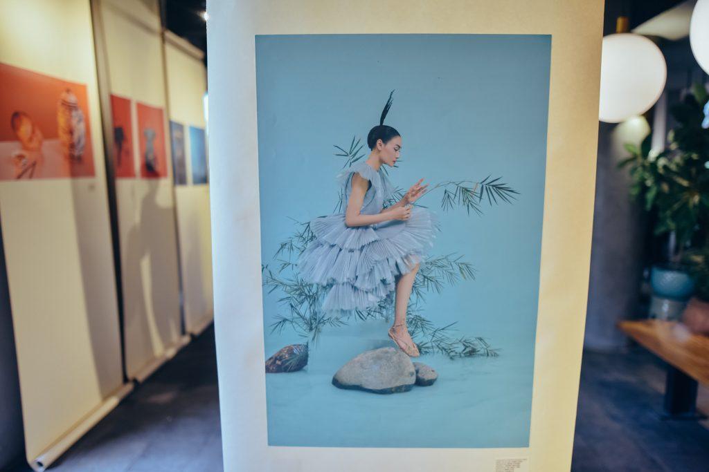 ảnh chánh niệm trong buổi ra mắt sách Dzũng Yoko Artbook 4