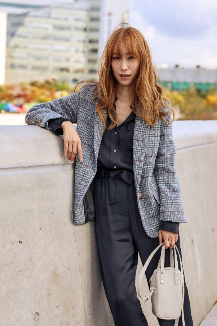 cách phối đồ tại seoul fashion week xuân hè 2020