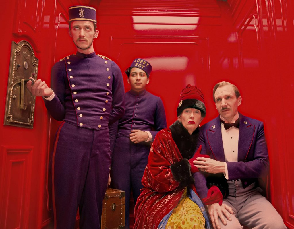 cảnh trong The Grand Budapest Hotel