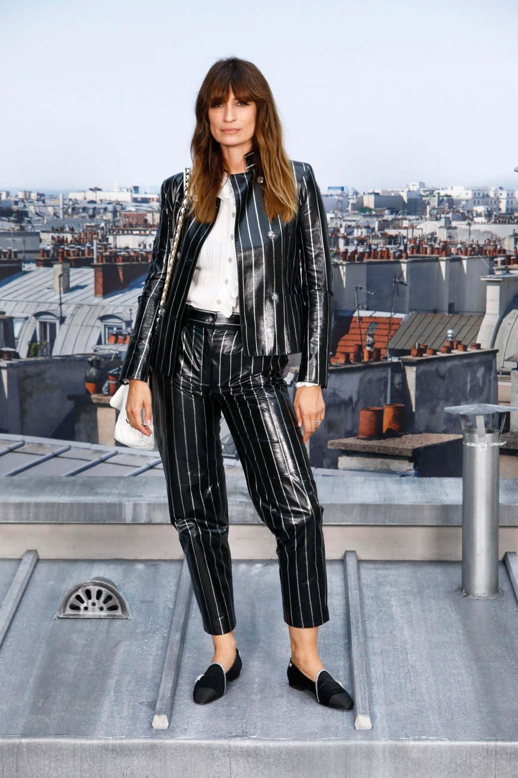 Caroline de Maigret tại show Chanel Xuân - Hè 2020 Tuần lễ thời trang Paris