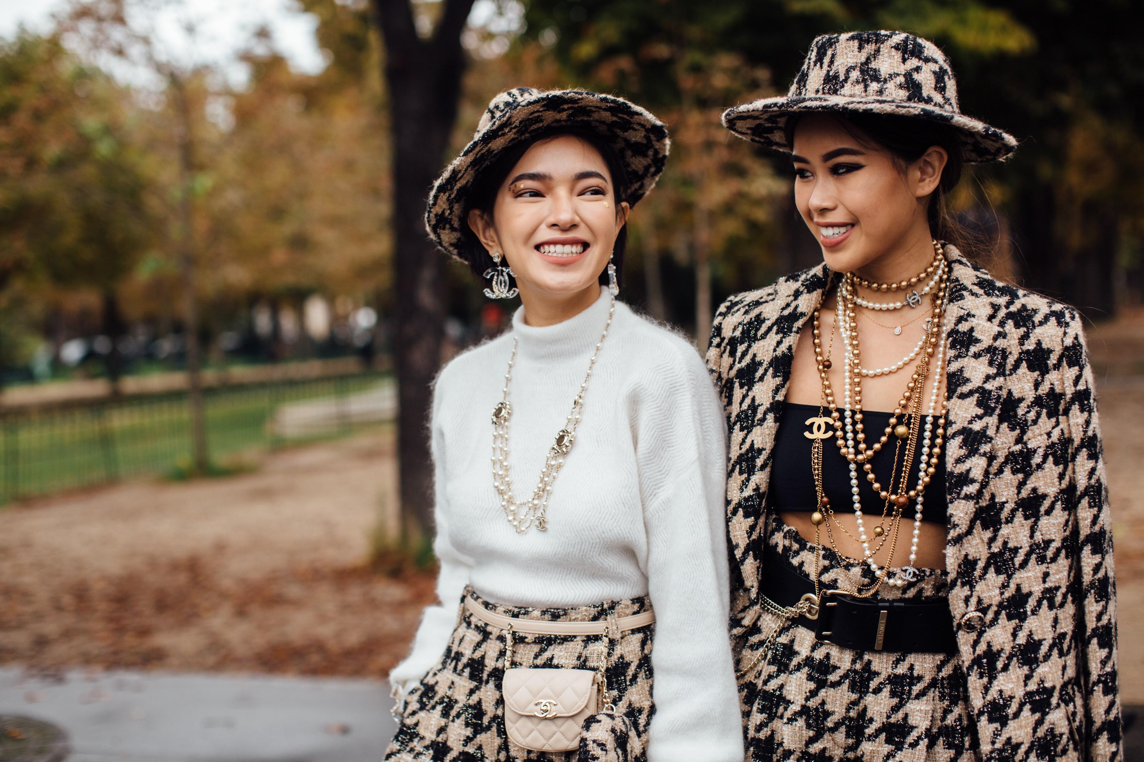 Châu Bùi và Tiên Nguyễn tại Tuần lễ thời trang Paris