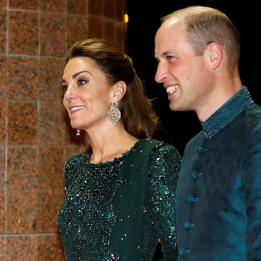 Công nương Kate trong buổi tiệc tiếp đón của chính phủ Pakistan