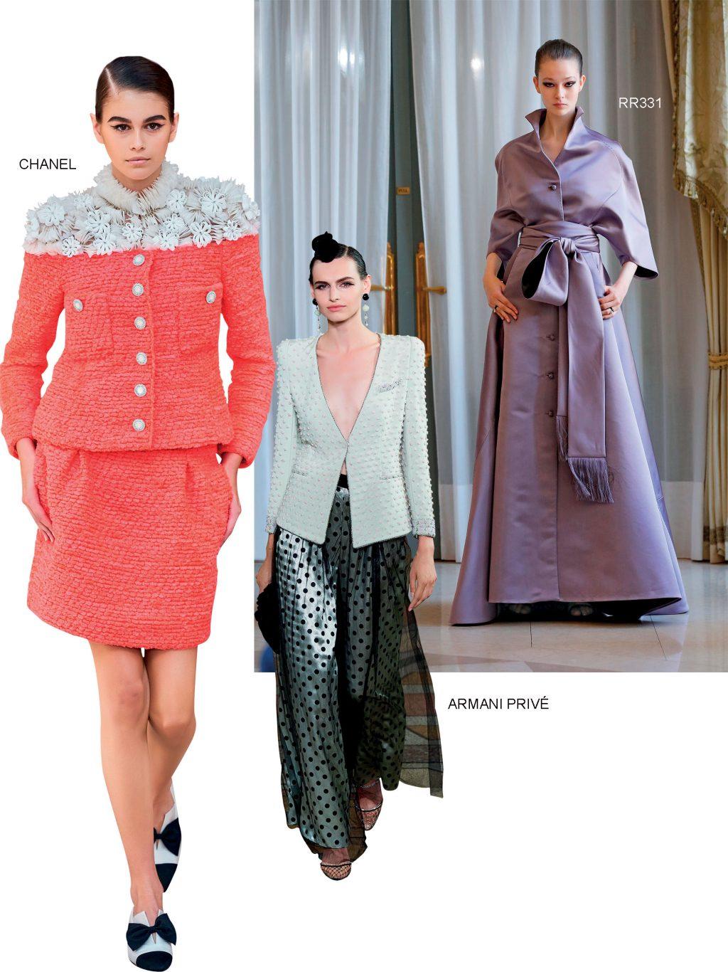 Haute Couture chanel armani prive và rr331 thu đông 2019