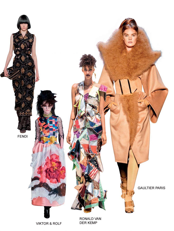 Haute Couture fendi viktor&rolf thu đông 2019