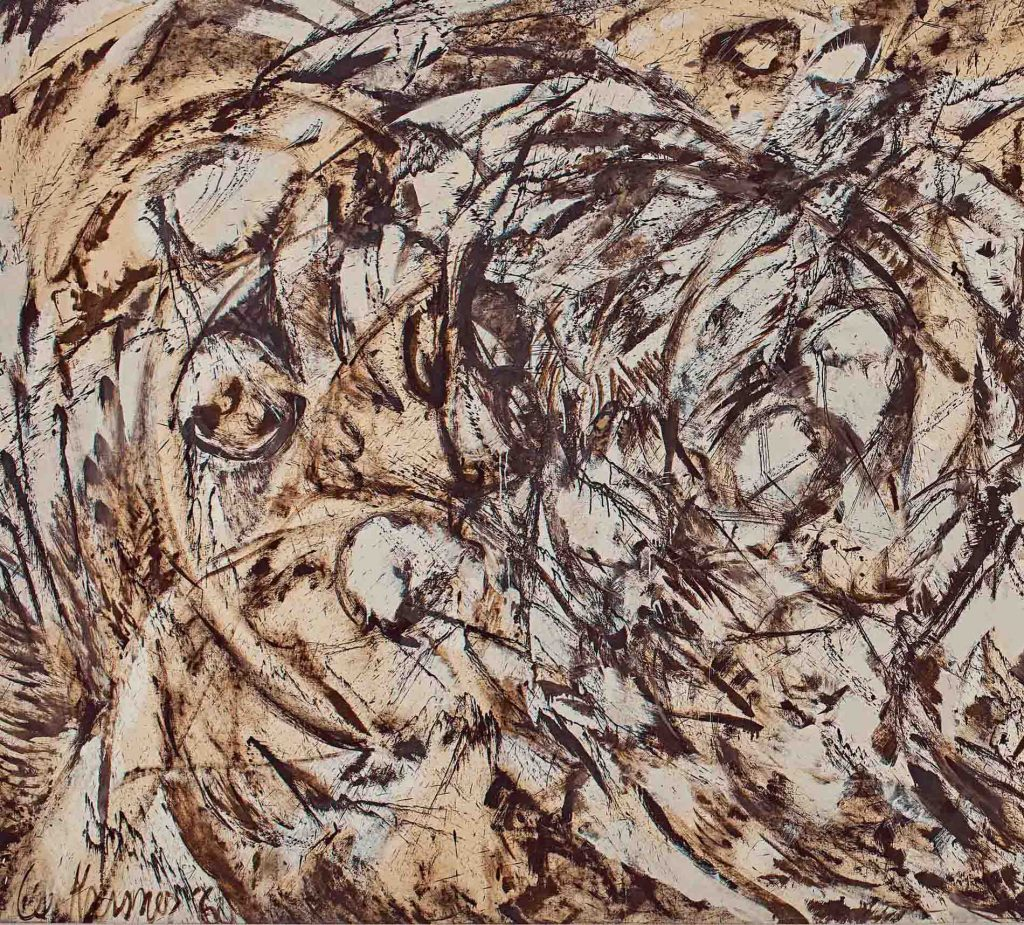 "Tác phẩm ""The Eye is the First Circle"" (1960) của Lee Krasner."