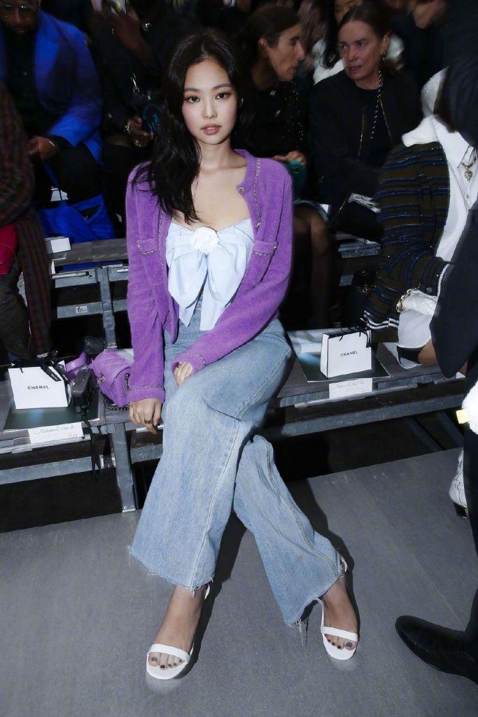 Jennie tại show Chanel tuần lễ thời trang Paris xuân hè 2020