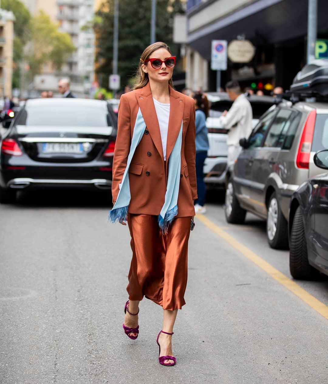 Khăn quàng cổ fashionista Olivia Palermo