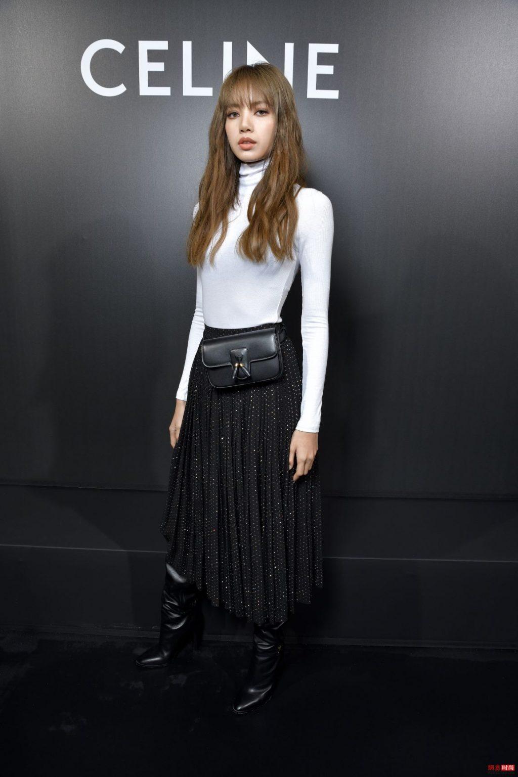 Lisa tham dự show celine trong tuần lễ thời trang xuân hè 2020 paris