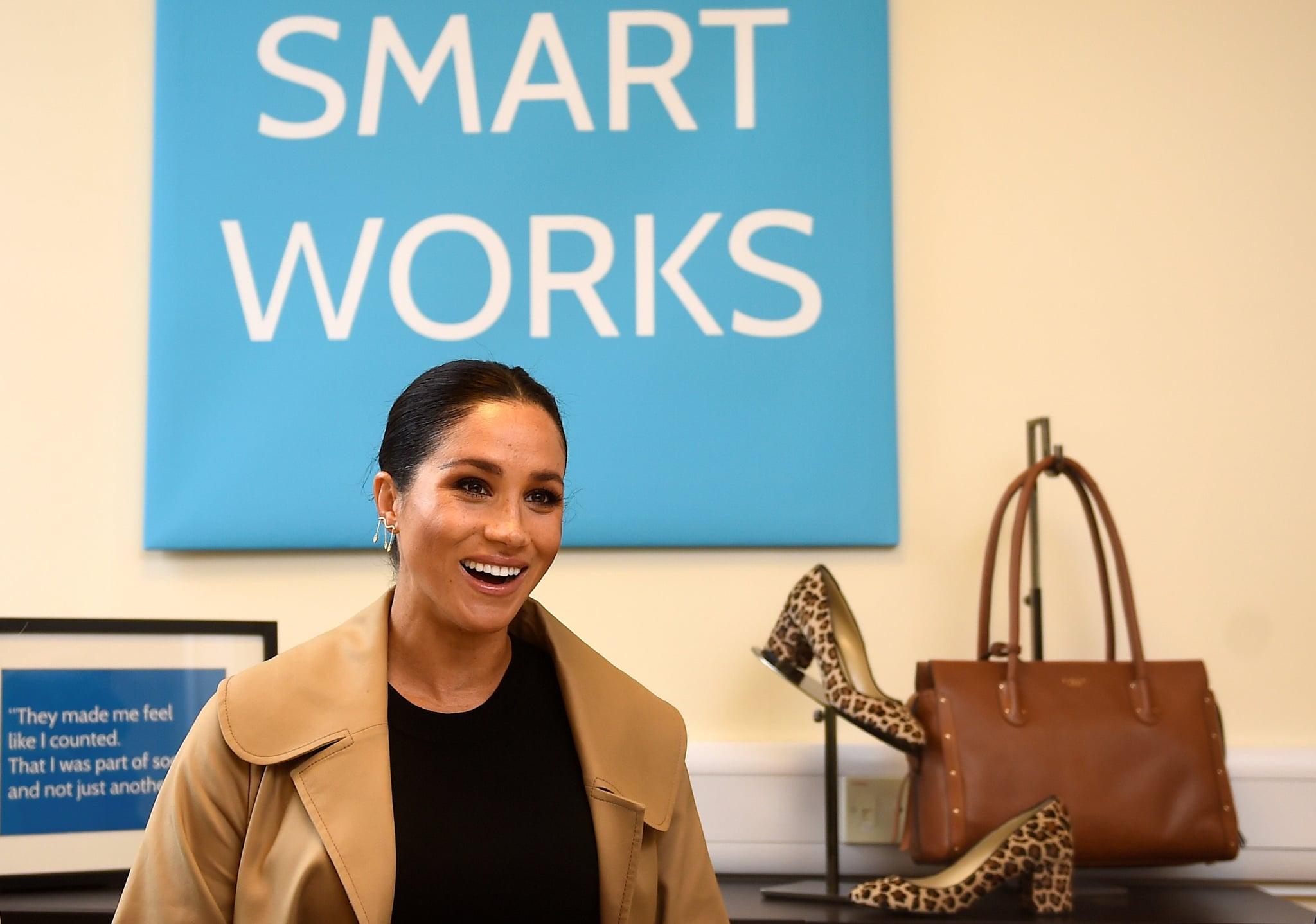 Meghan Markle đến thăm tổ chức từ thiện Smart Works