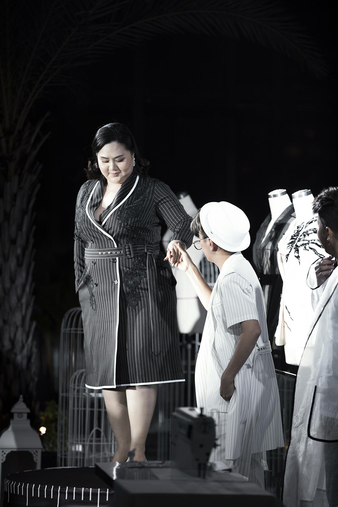 Minh Thảo tại show diễn