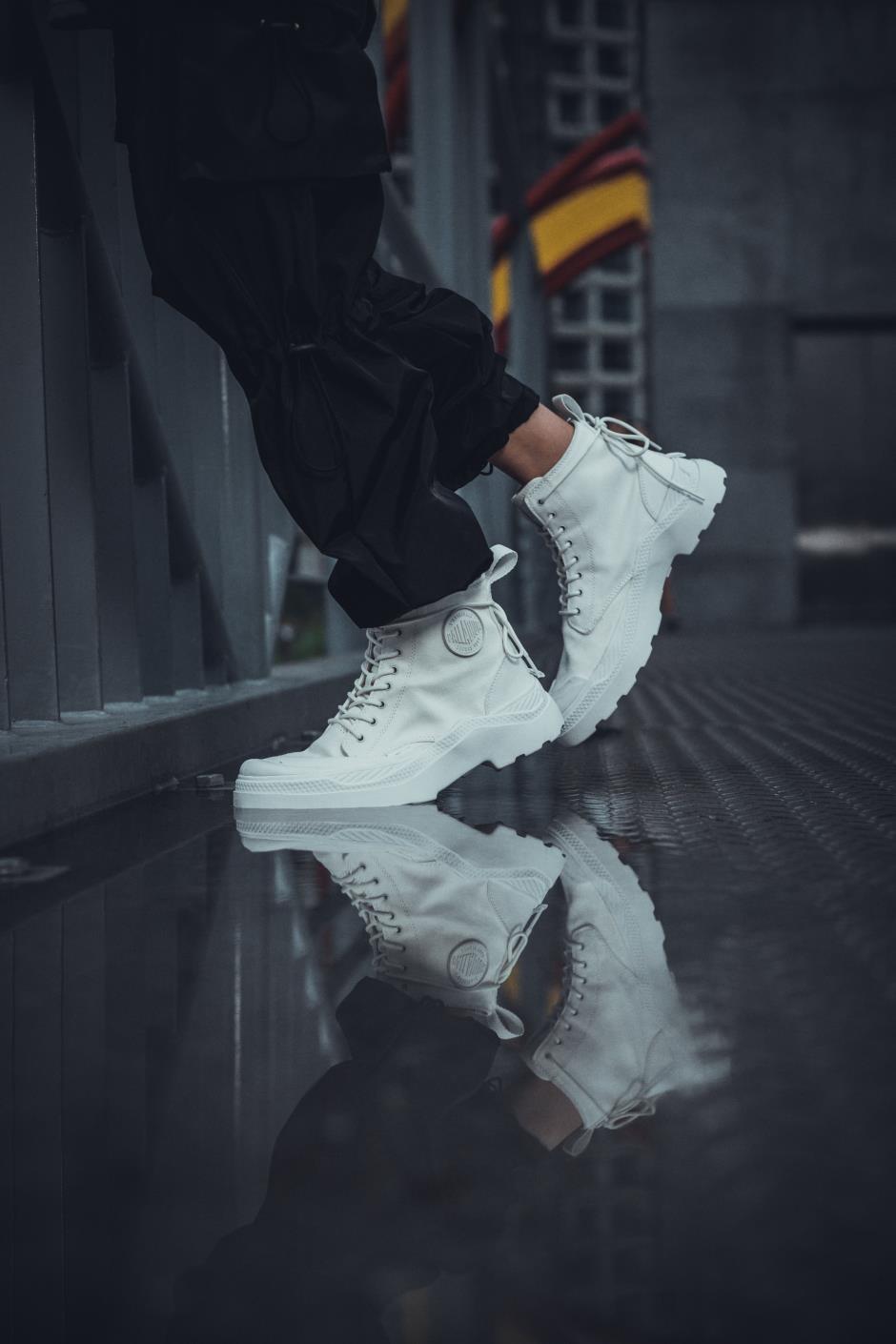 Pallakix Hi Blanc trắng