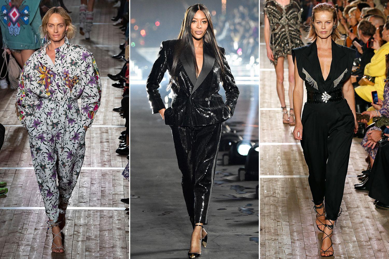 Siêu mẫu tái xuất tại tuần lễ thời trang paris