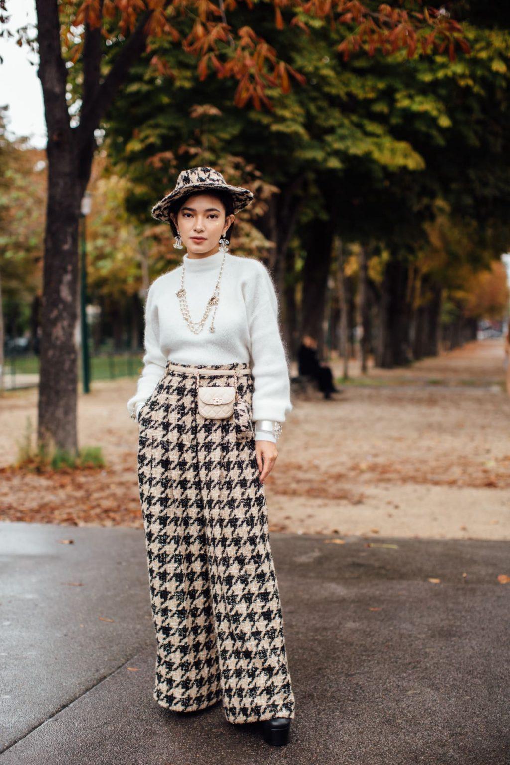 Châu Bùi tại show Chanel Xuân - Hè 2020 tại tuần lễ thời trang paris