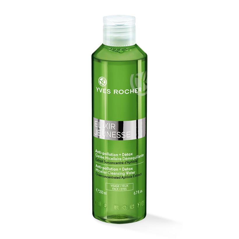 tẩy trang nước Yves Rocher giúp thải độc da
