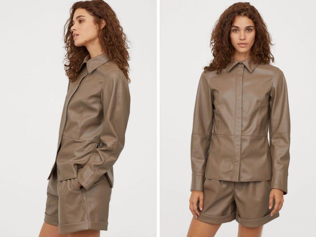 Thời trang công sở thu 2019 - H&M shorts suit