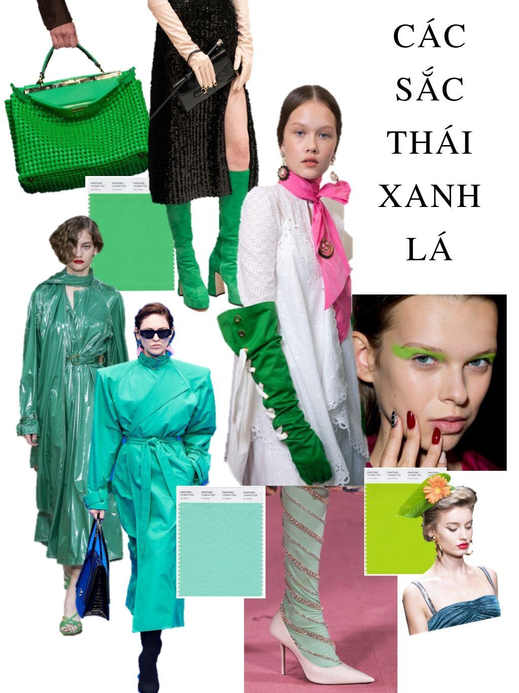 thời trang cung hoàng đạo thiên bình các màu xanh lá cây