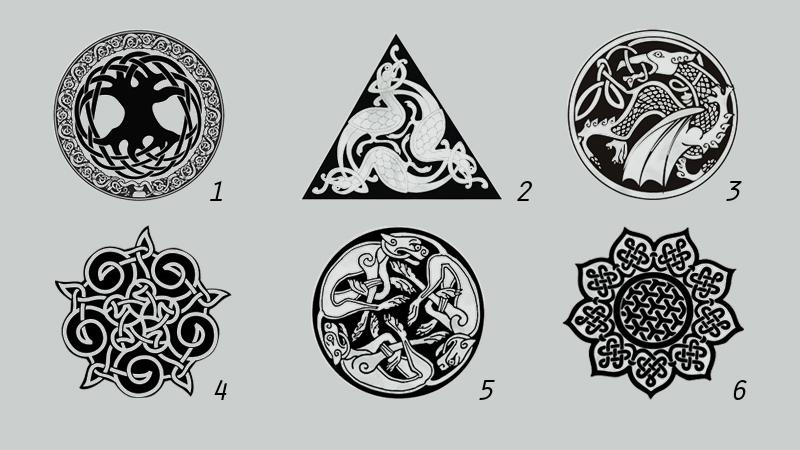 trắc nghiệm hình ảnh nút thắt celtic