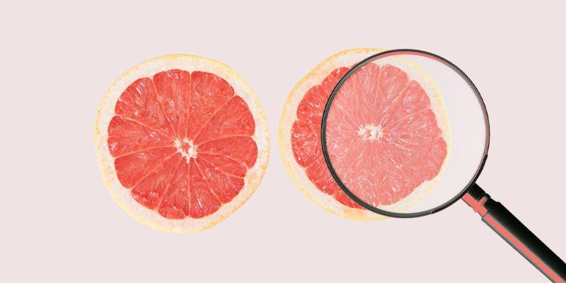 ung thư vú - hai trái cam