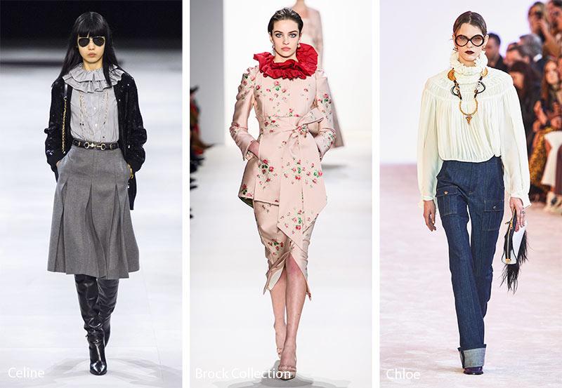 xu hướng thời trang công sở Thu - Đông 2019