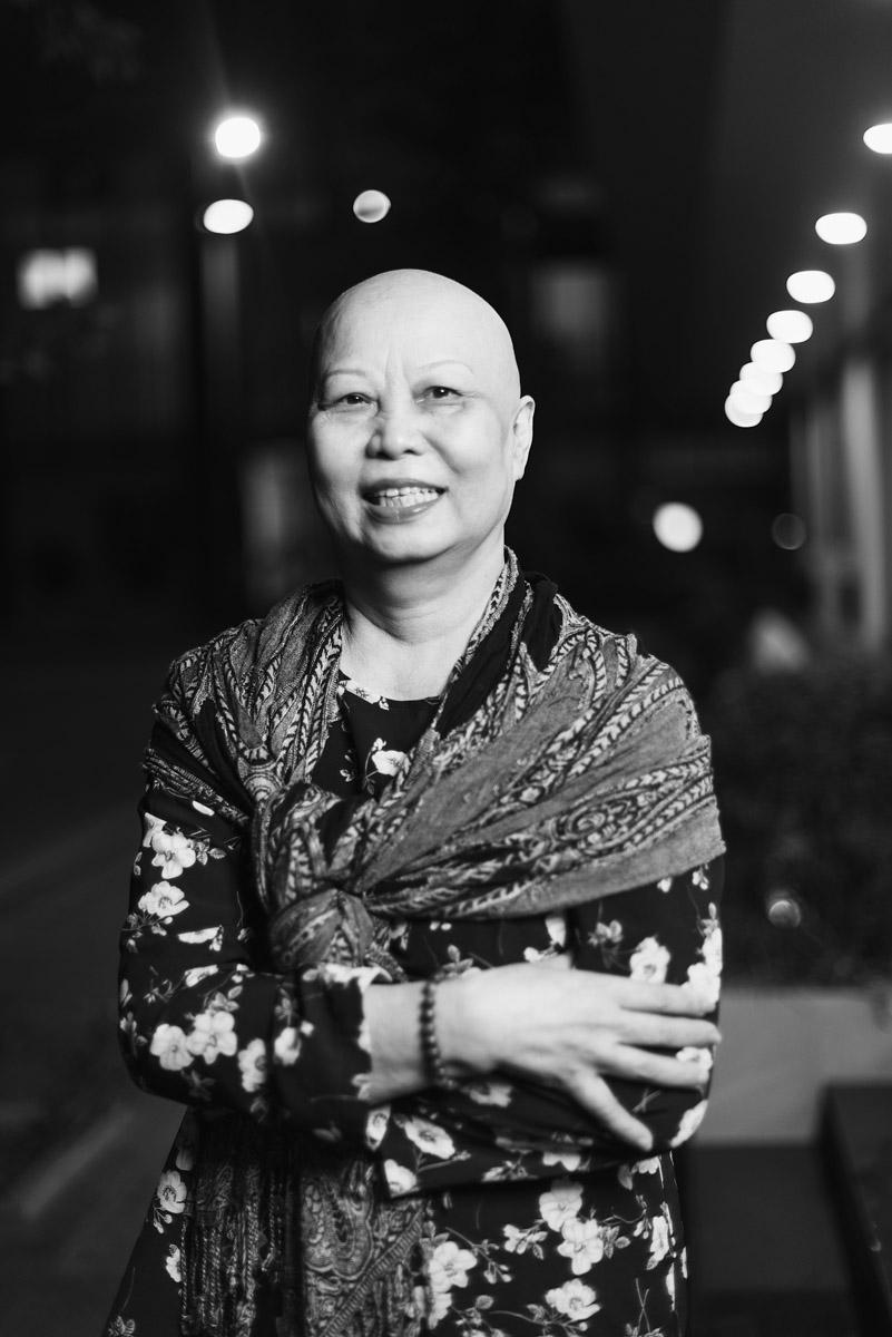Bộ ảnh chụp những bệnh nhân ung thư vú do Dạ Miêu thực hiện.