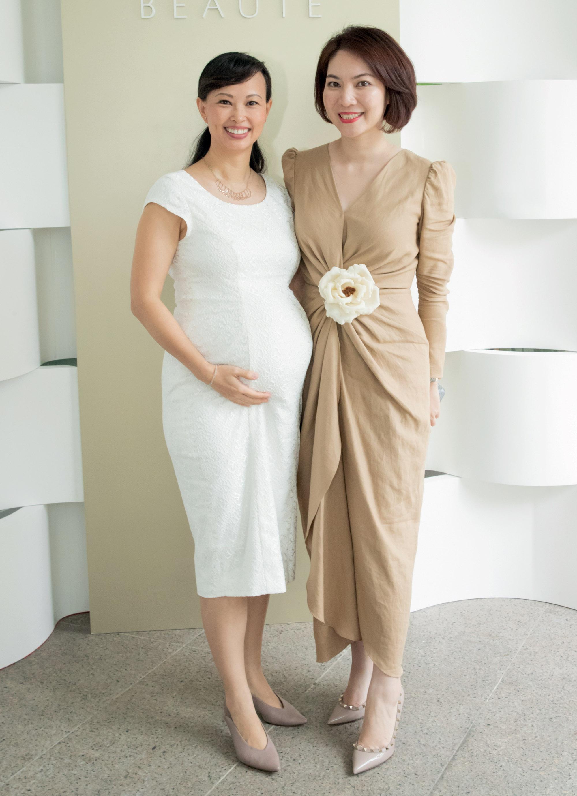 doanh nhân Thái Vân Linh đại diện thương hiệu Cle de Peau