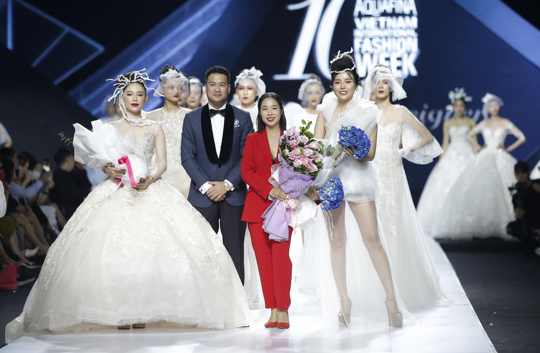 Aquafina Vietnam International Fashion Week - Linh Rin, Cao Thái Hà 1