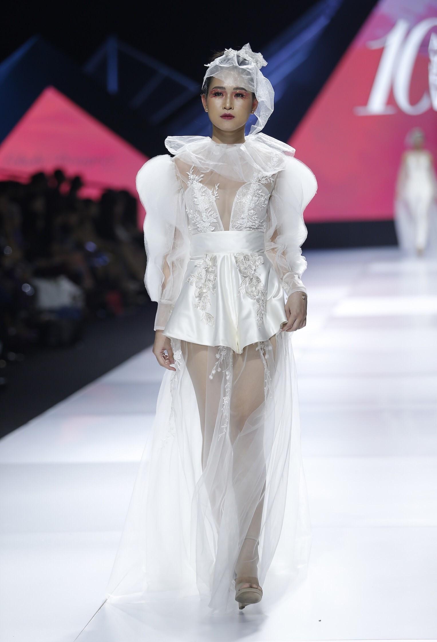 Aquafina Vietnam International Fashion Week - Linh Rin, Cao Thái Hà 4