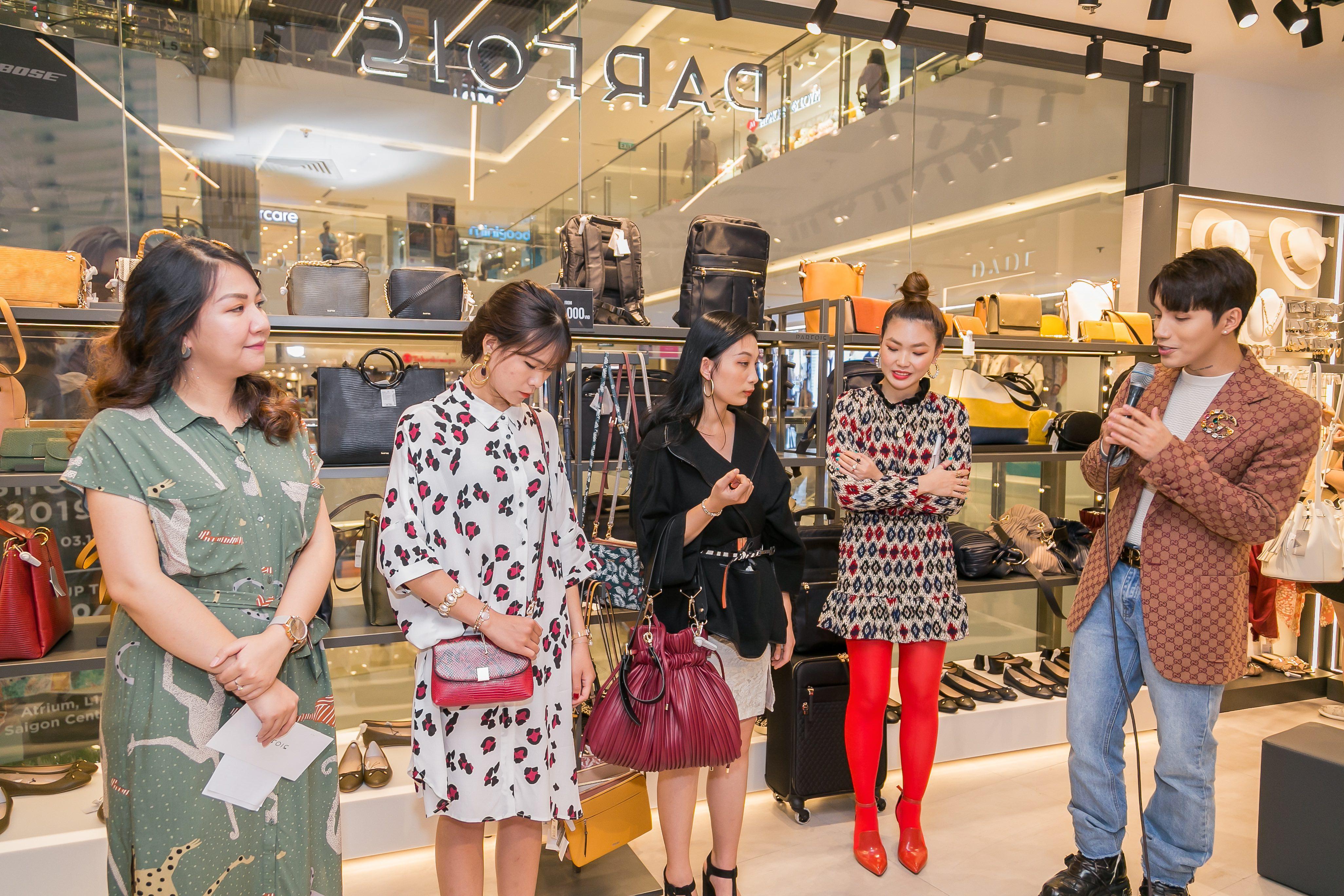Parfois Việt Nam khai trương cửa hàng mới tại Sài Gòn Centre 8