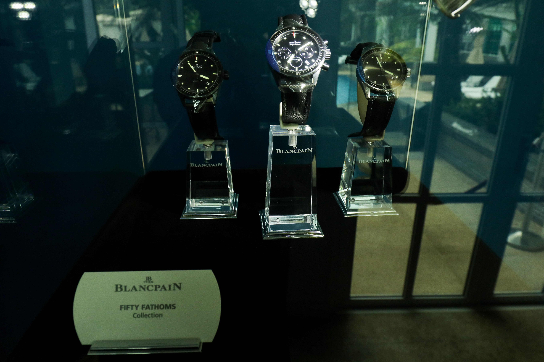 Thương hiệu đồng hồ Blancpain ra mắt BST Fifty Fathoms tại Việt Nam 6