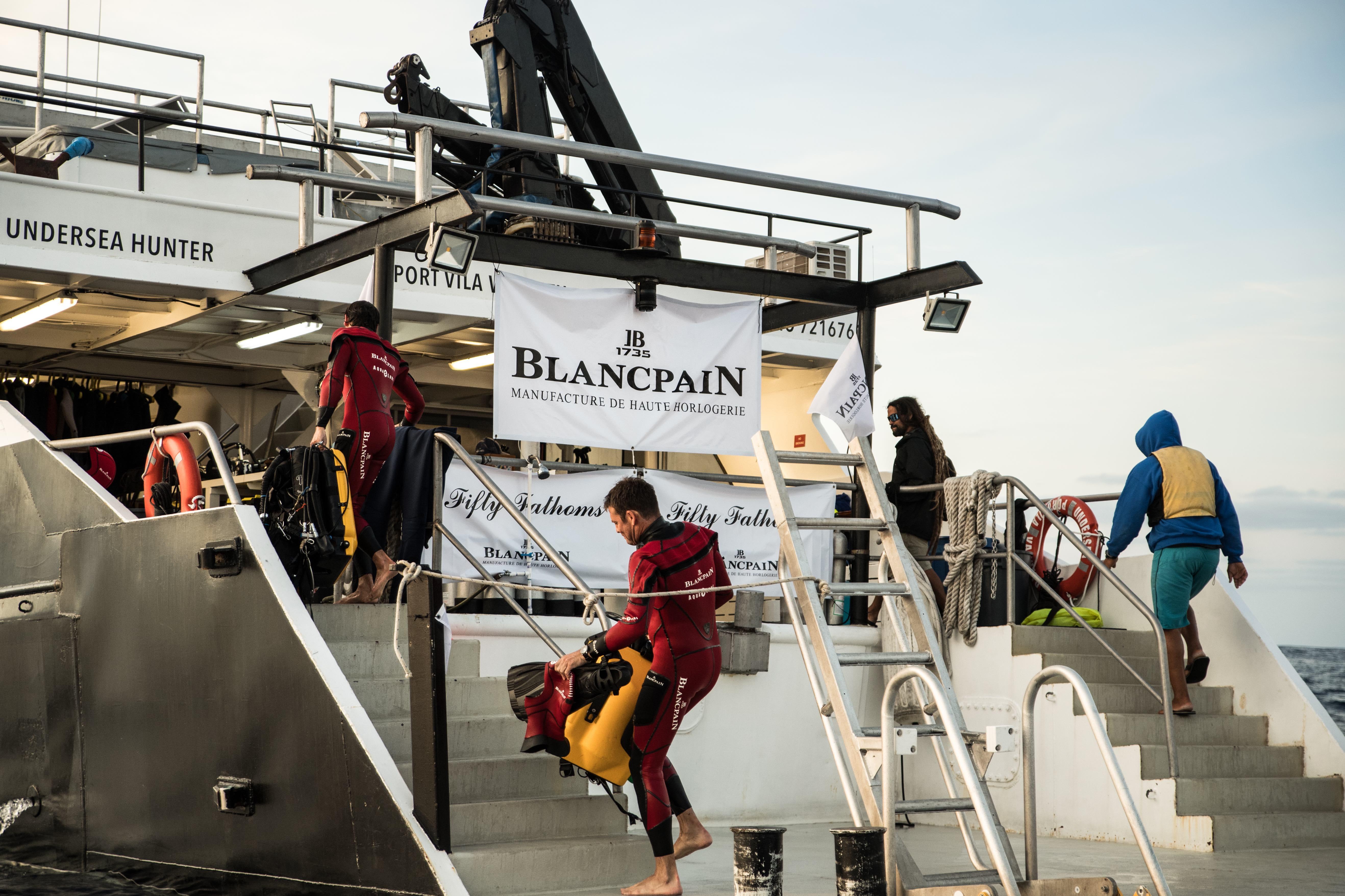 Thương hiệu đồng hồ Blancpain ra mắt BST Fifty Fathoms tại Việt Nam 10