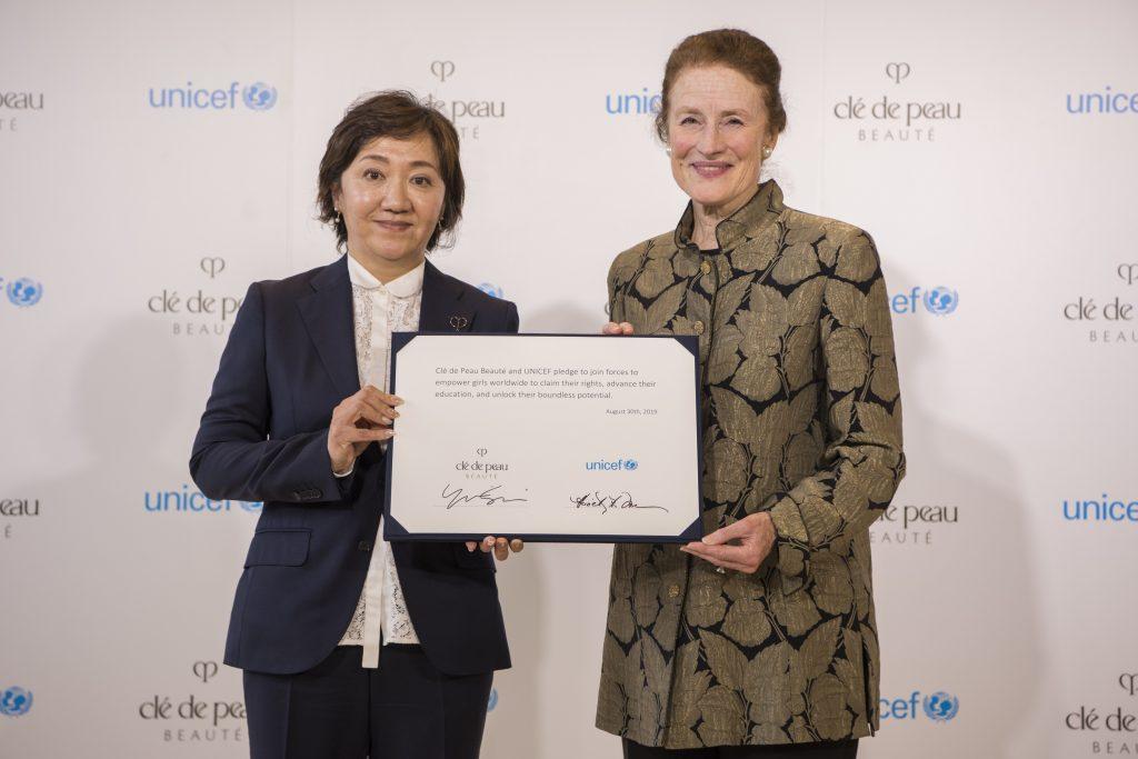 Clé de Peau Beauté thông báo chương trình hợp tác với UNICEF