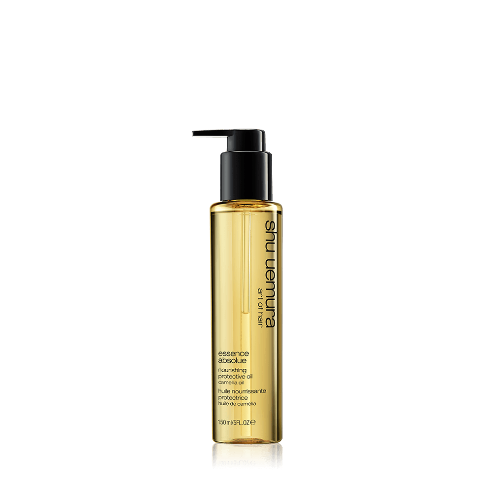 hair oil shu uemura essence absolue nourishing protective hair oil chai màu vàng