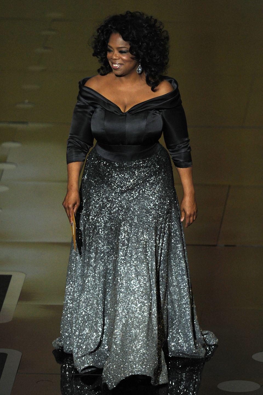 Oprah Winfrey mặc thiết kế của Zac tại lễ trao giải Oscar năm 2011.