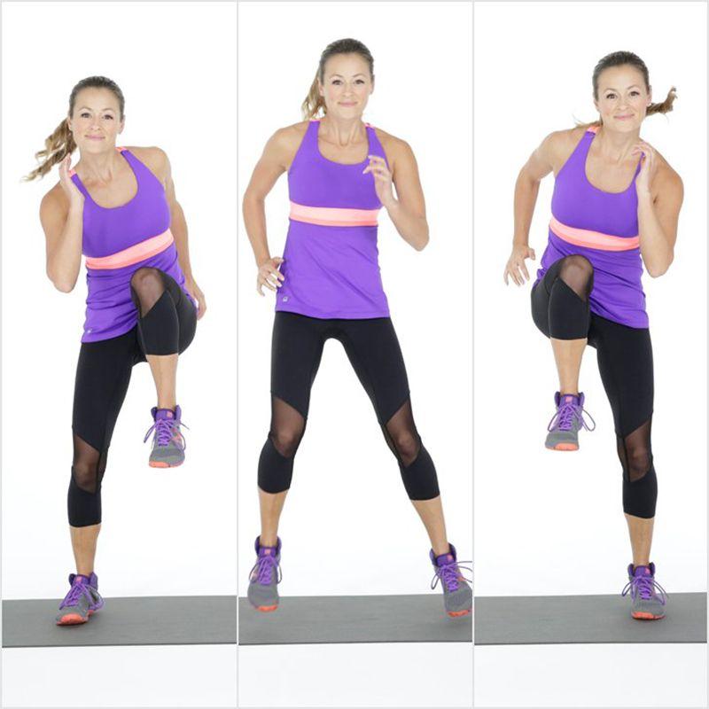 động tác thực hiện bài tập giảm mỡ bụng