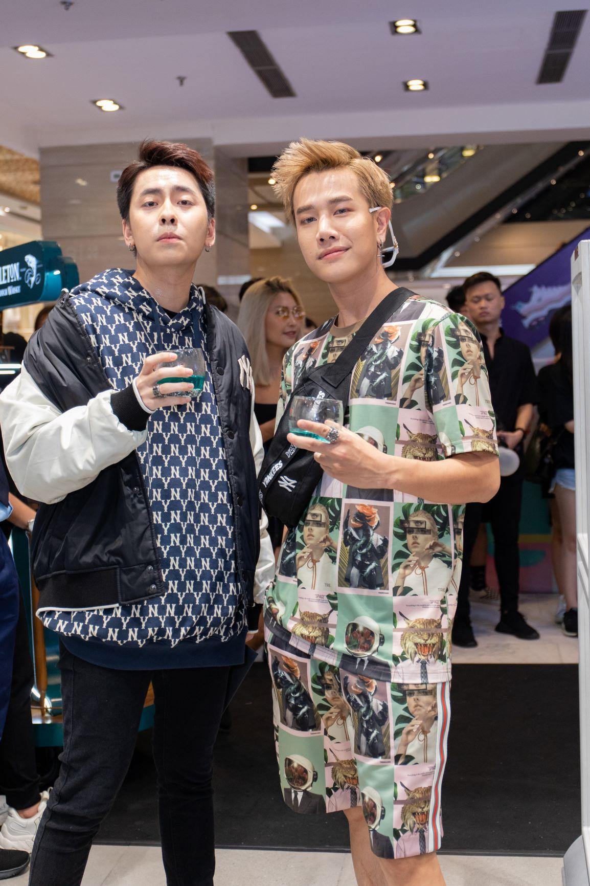 Ca sĩ Osad và Lou Hoàng