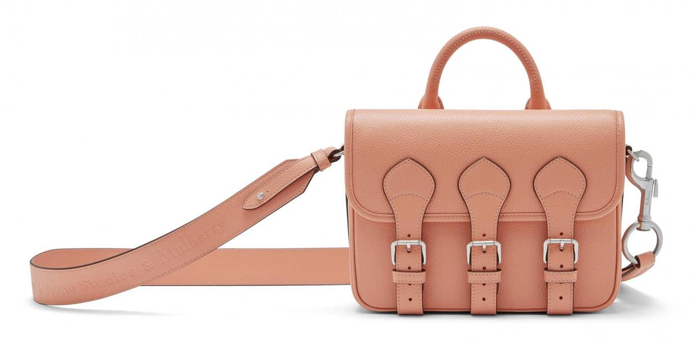 bst túi xách Acne Studios x Mulberry màu hồng
