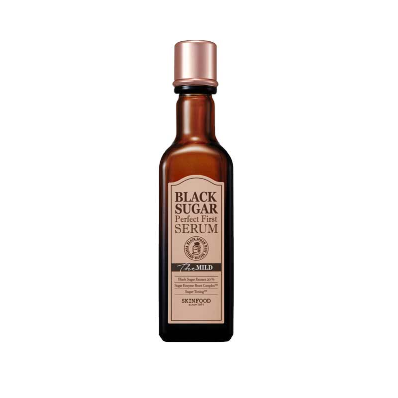 tiền huyết thanh skin food black sugar
