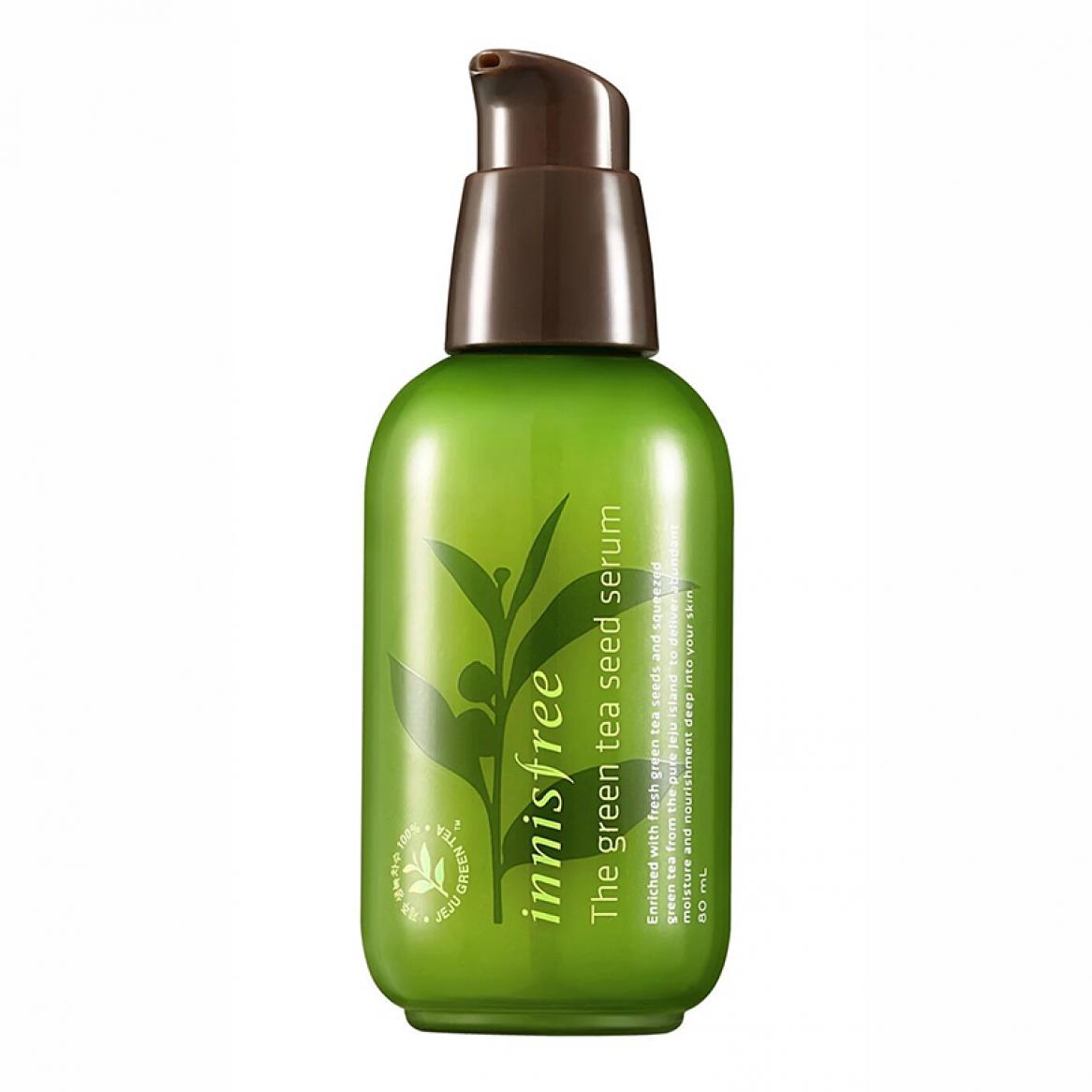 tiền huyết thanh innisfree the green tea seed serum ảnh chất lượng hơn