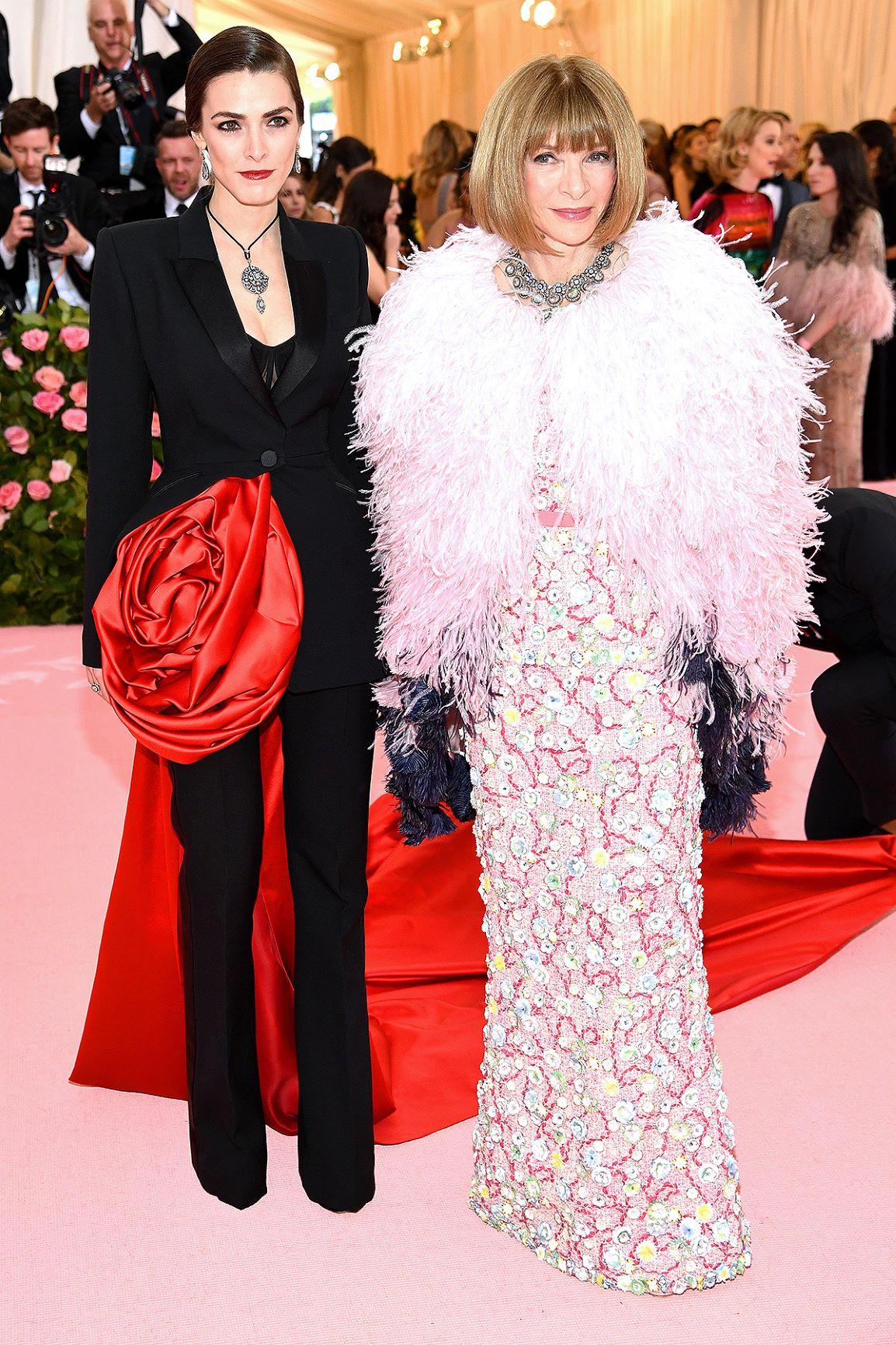 Anna Wintour và con gái tại Met Gala 2019