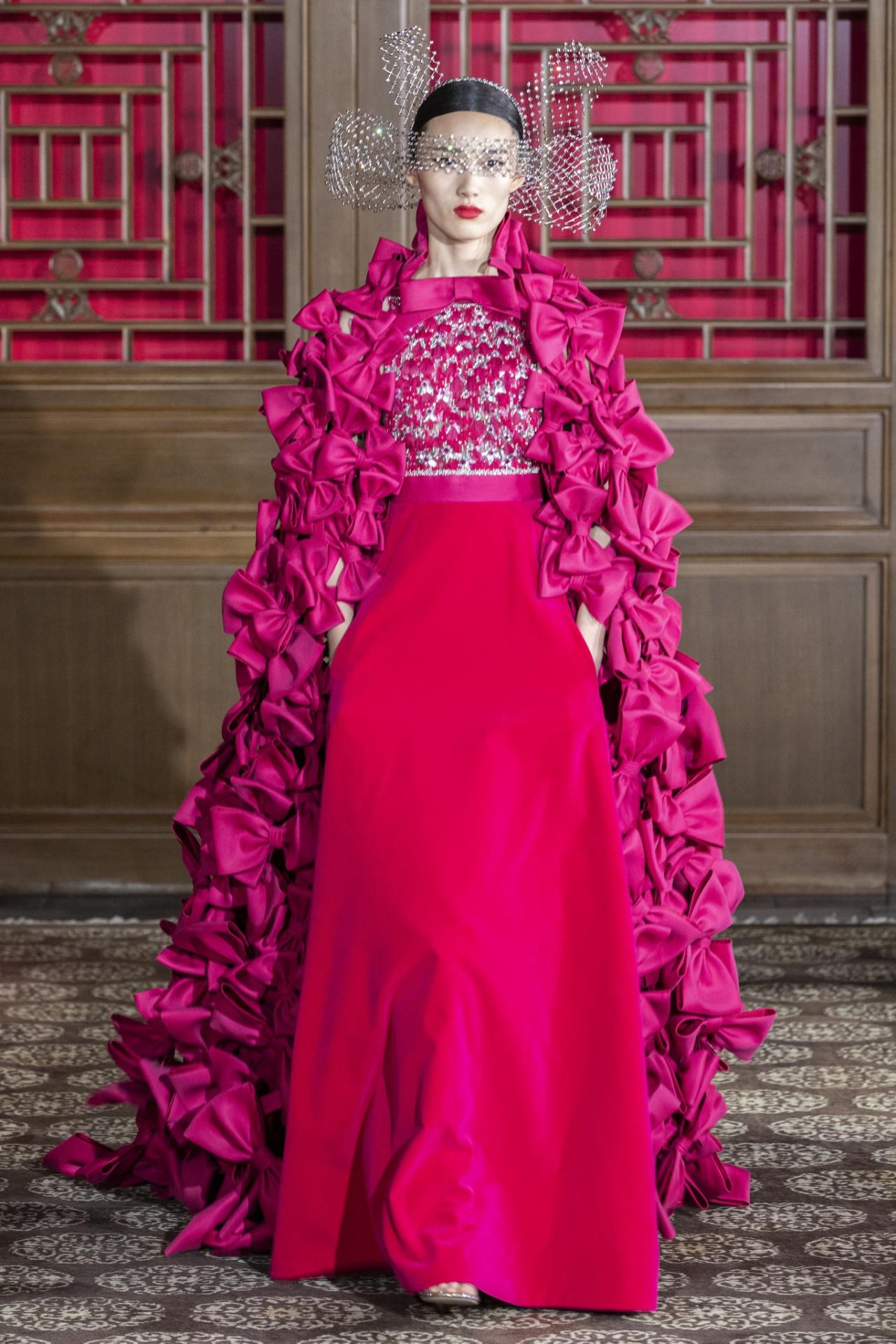 Buổi trình diễn Valentino tại Trung Quốc