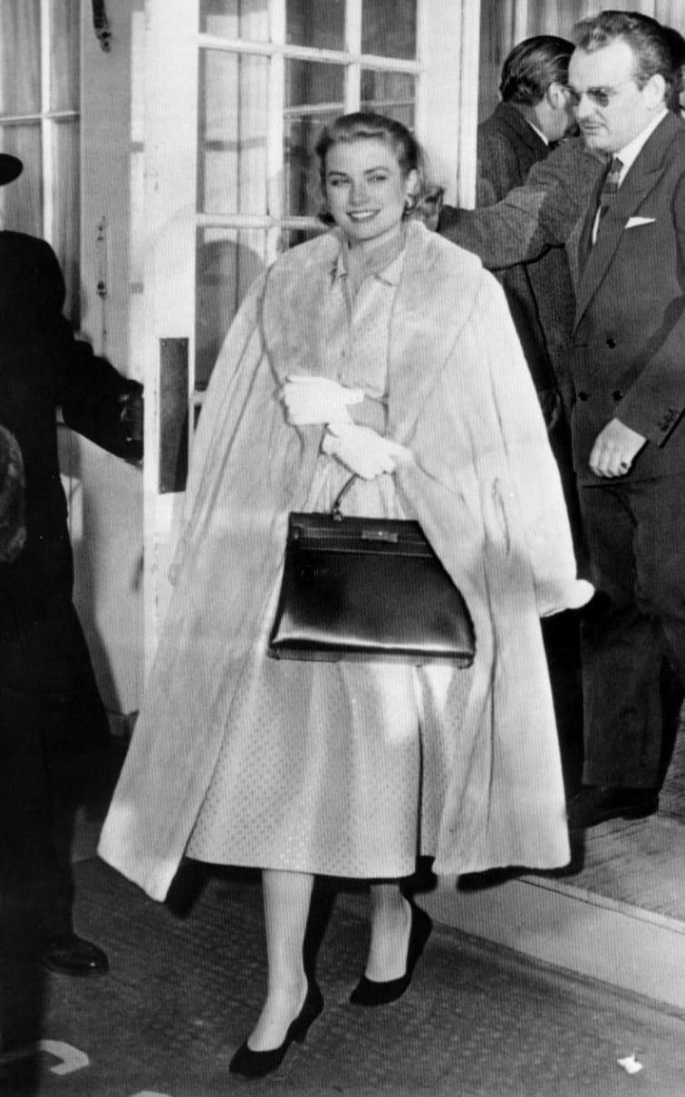 Túi Hermes của Grace Kelly năm 1956