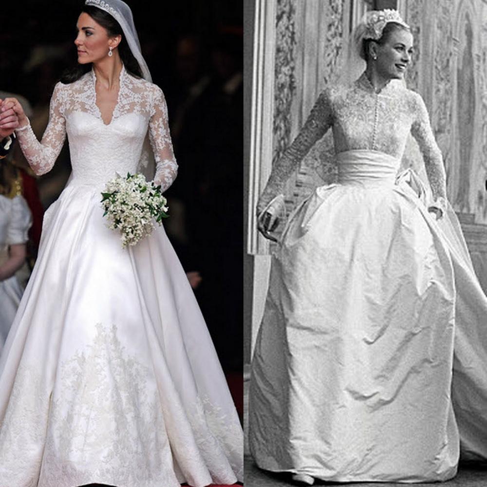 Váy cưới của Kate Middleton