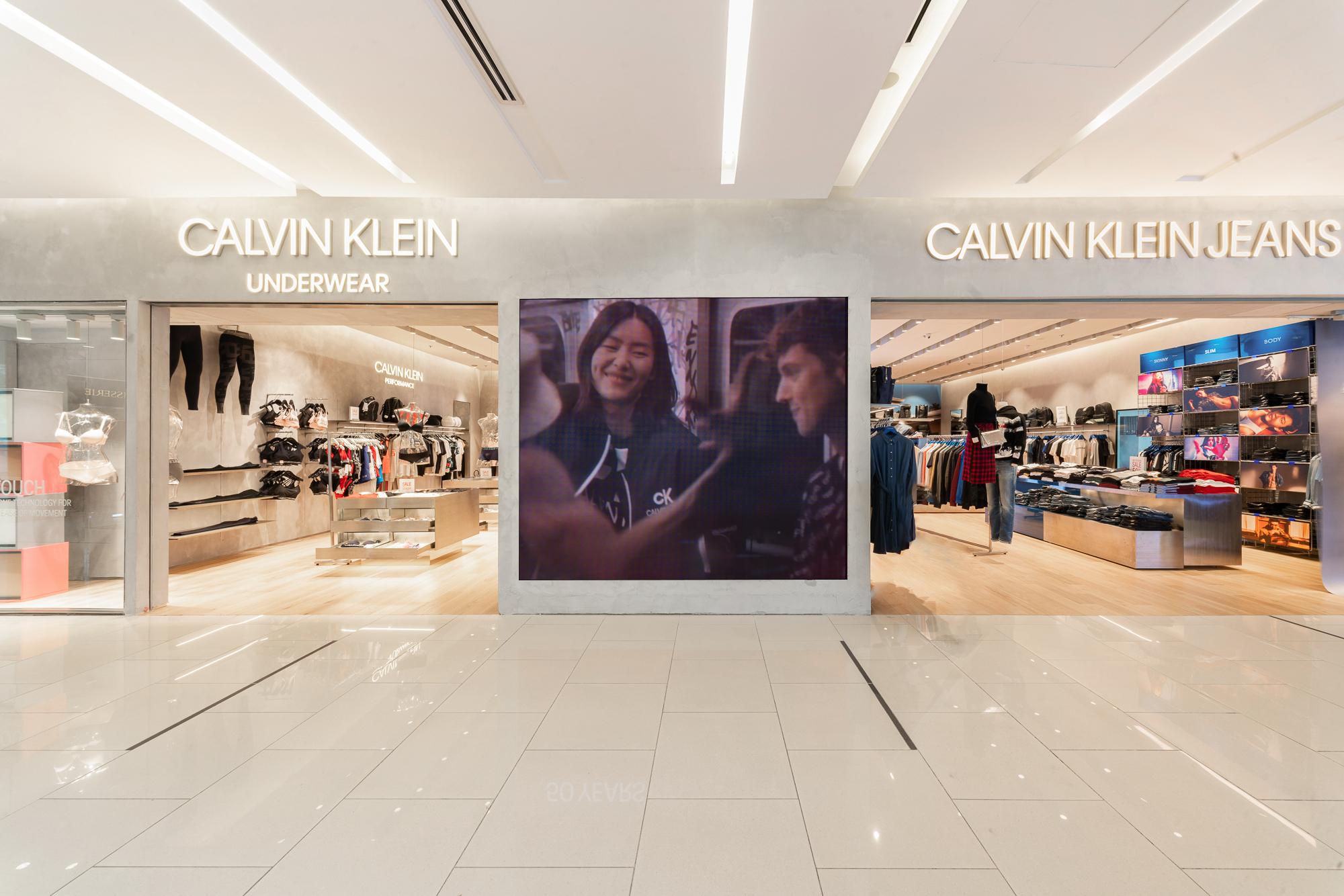 Cửa hàng Multi-brand của Calvin Klein tại Trung tâm thương mại Saigon Centre