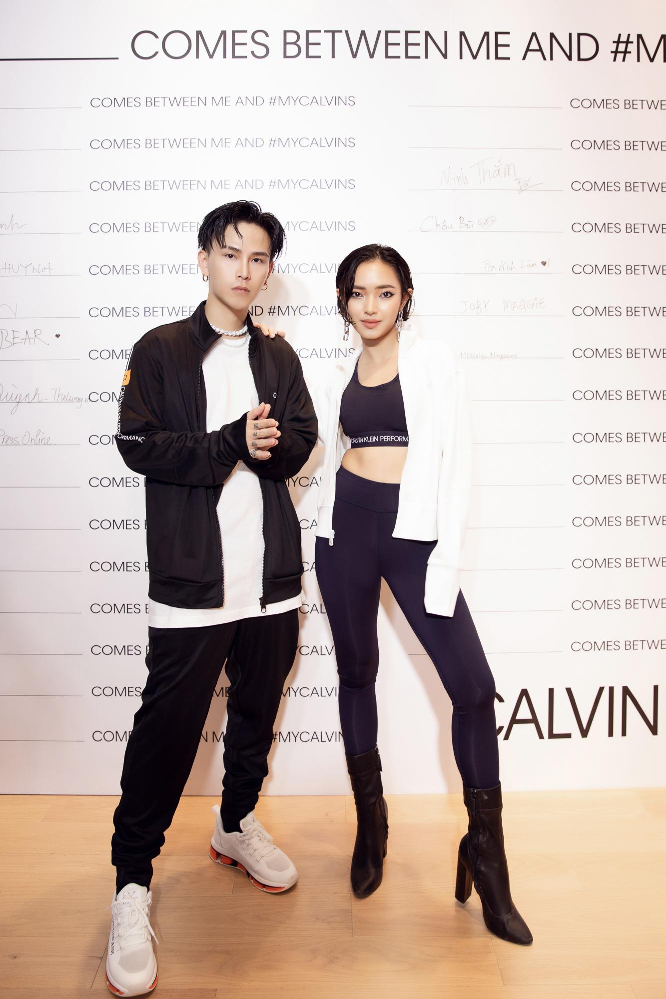 Fashionista Decao & Châu Bùi tại sự kiện Calvin Klein